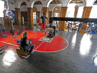 Jordan – Using the Super Technocrane