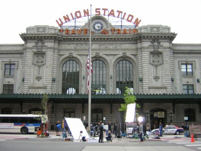 Union Station Shoot- Film production in Colorado