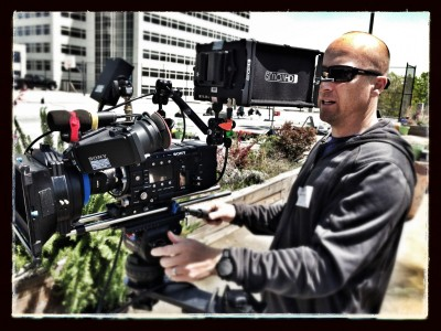 Sony F55 capturing some images at the world HQ of Home Depot